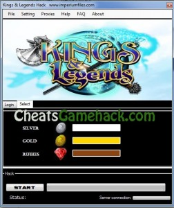 Kings and Legends Hack