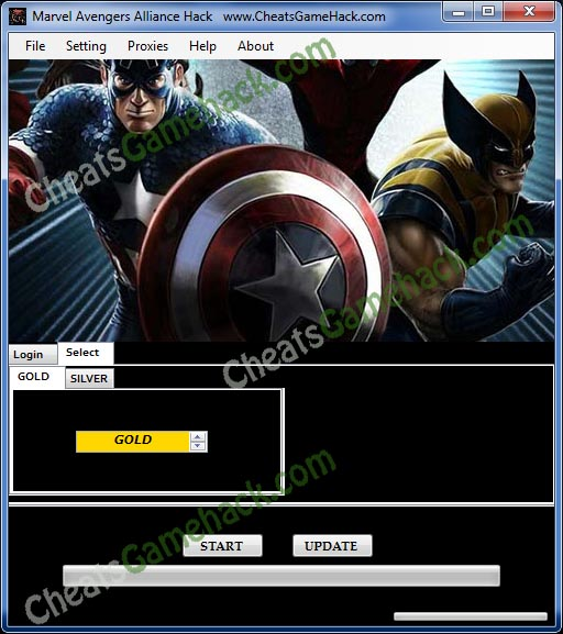 Marvel Avengers Alliance Hack v9.6  Free Gold Silver  Download 2013