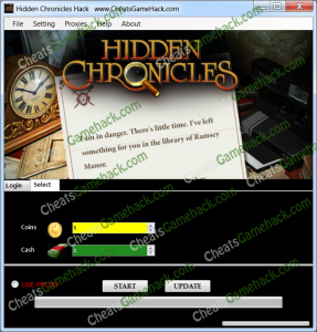 Hidden Chronicles Generator