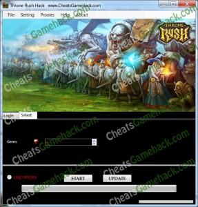Throne Rush Cheat tool